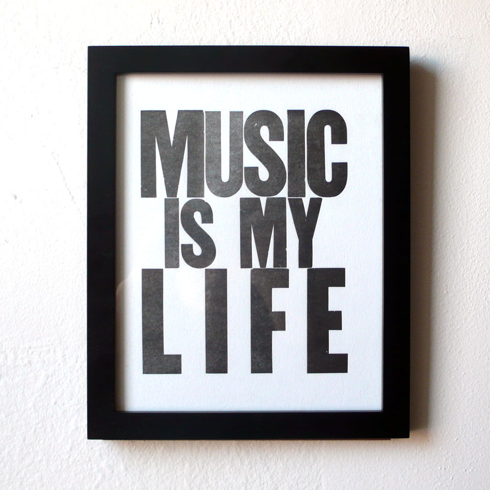 new prints music is my life heartfish blog it s