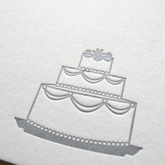silvercakeletterpresscard