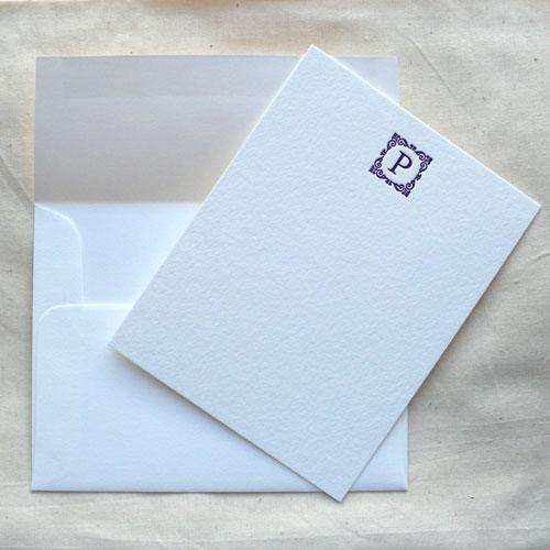 monogramcardspurple1